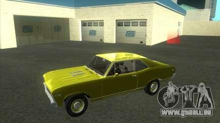 Chevy Nova SS 1969 pour GTA San Andreas