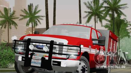 Ford F-350 Super Duty LAFD pour GTA San Andreas