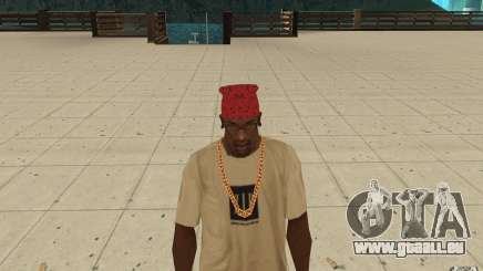 Maryshuana rouge bandana pour GTA San Andreas