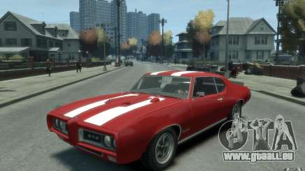 Pontiac GTO Hardtop 1968 v1 pour GTA 4