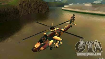 Hunter Armee Look für GTA San Andreas