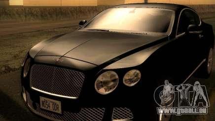 Bentley Continental GT 2011 für GTA San Andreas