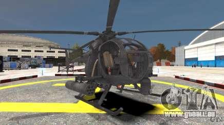 New AH-6 Little Bird für GTA 4