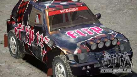 Mitsubishi Pajero Proto-Dakar Vinyl 3 für GTA 4