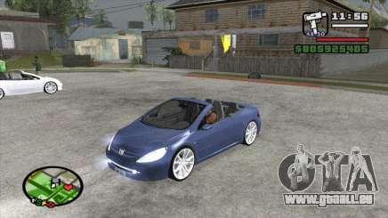 Peugeot 307 BMS Edition pour GTA San Andreas