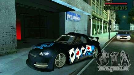 Mazda Miata Tunable pour GTA San Andreas