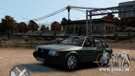 AZLK Moskvich 2141 für GTA 4