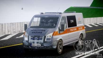 Ford Transit Usluga polski gazu [ELS] pour GTA 4