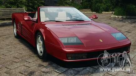Ferrari Testarossa Spider custom v1.0 für GTA 4
