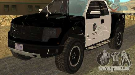 Ford Raptor Police pour GTA San Andreas
