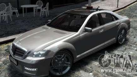 Mercedes Benz S63 Amg für GTA 4