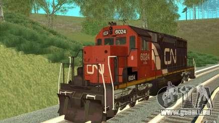 Canadian National SD40U pour GTA San Andreas