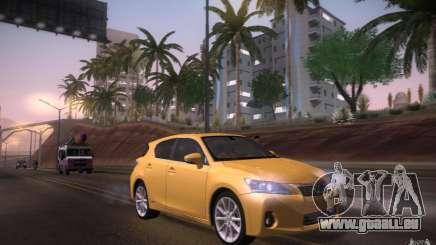 Lexus CT200H 2011 für GTA San Andreas