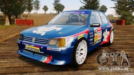 Peugeot 205 Maxi pour GTA 4