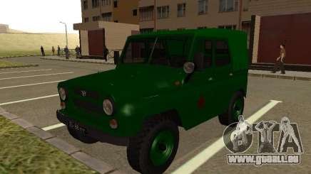 UAZ 469 militaire pour GTA San Andreas