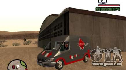 Mercedes Benz Sprinter für GTA San Andreas