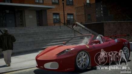 Ferrari F430 Spider pour GTA 4