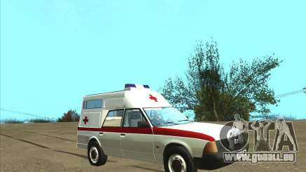 2901 AZLK ambulance pour GTA San Andreas