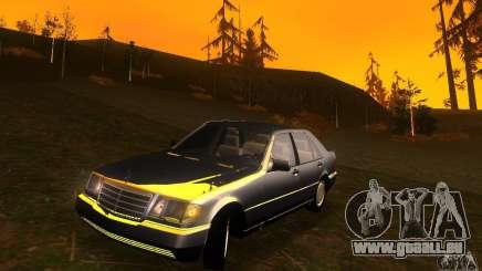 Mercedes-Benz 600SEL v2.0 pour GTA San Andreas