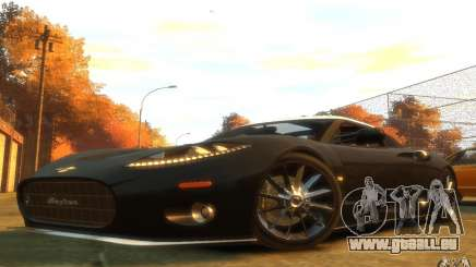 Spyker C8 Aileron pour GTA 4