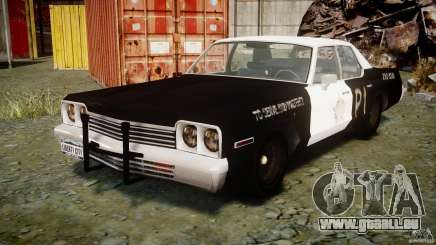 Dodge Monaco 1974 (bluesmobile) pour GTA 4