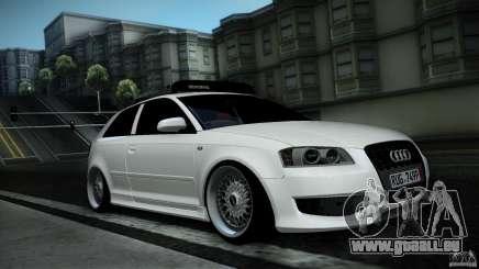 Audi S3 Euro pour GTA San Andreas