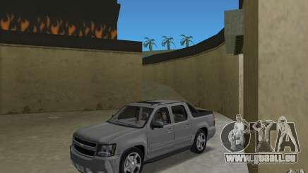 Chevrolet Avalanche 2007 für GTA Vice City