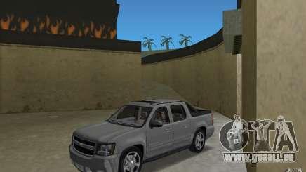 Chevrolet Avalanche 2007 pour GTA Vice City