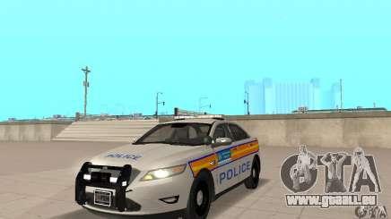 Ford Taurus 2011 Metropolitan Police Car pour GTA San Andreas