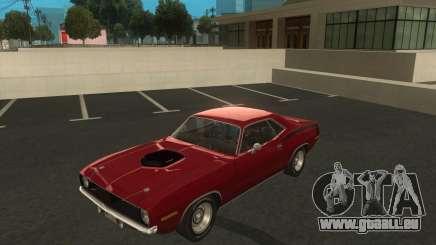 Plymouth Hemi Cuda 1970 440 über NFS PS für GTA San Andreas