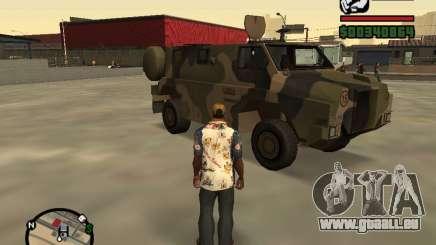 Australian Bushmaster pour GTA San Andreas
