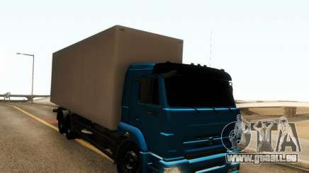 KAMAZ 65117 pour GTA San Andreas
