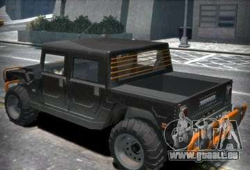 Hummer H1 4x4 Extras pour GTA 4
