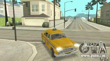 Checker Marathon 1977 Taxi pour GTA San Andreas