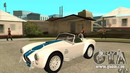 AC Shelby Cobra 427 1965 pour GTA San Andreas