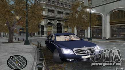 Maybach 62 für GTA San Andreas