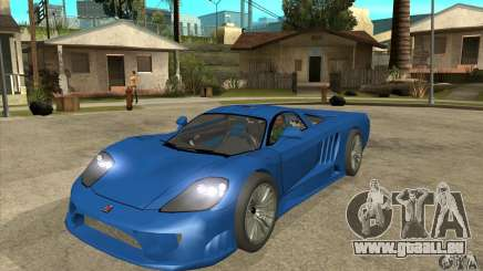 Saleen S7 Twin Turbo Custom Tuned pour GTA San Andreas