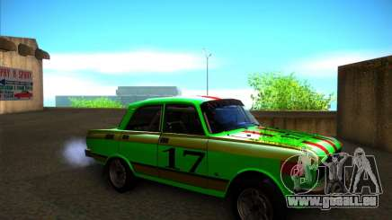 AZLK 2140SL Rallye für GTA San Andreas