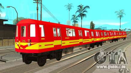 Liberty City Train Red Metro pour GTA San Andreas