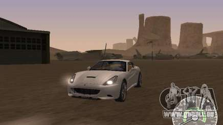 Ferrari California v1 pour GTA San Andreas
