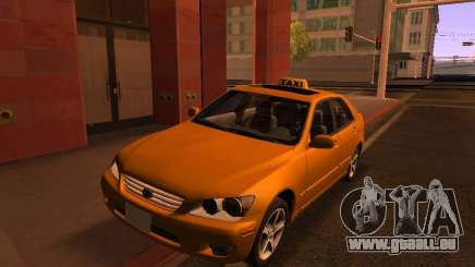 Lexus IS300 Taxi für GTA San Andreas