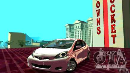 Toyota Aygo V1.0 pour GTA San Andreas