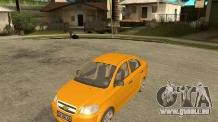 Chevrolet Aveo 2007 pour GTA San Andreas
