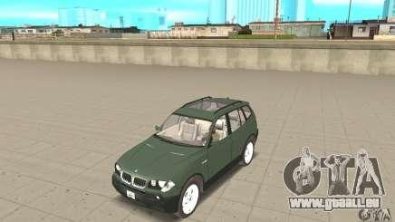 BMW X3 2.5i 2003 für GTA San Andreas