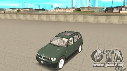 BMW X3 2.5i 2003 pour GTA San Andreas