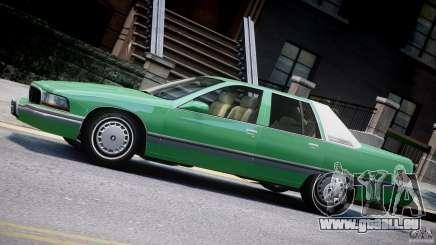 Buick Roadmaster Sedan 1996 v1.0 pour GTA 4