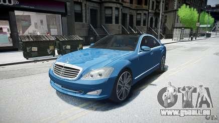Mercedes Benz w221 s500 v1.0 sl 65 amg wheels pour GTA 4
