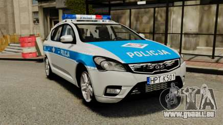 Kia Ceed 2011 SW Polish Police ELS für GTA 4