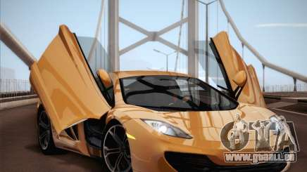 McLaren MP4-12C BETA für GTA San Andreas