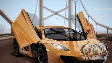McLaren MP4-12C BETA pour GTA San Andreas